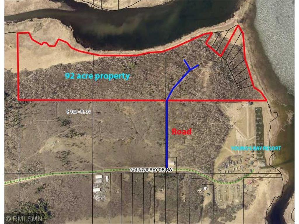 7710 Young's Bay Drive NW--92 acres, Angle Twp, MN