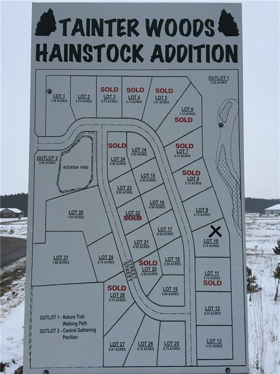 Lot 27 574th Street, Colfax, WI