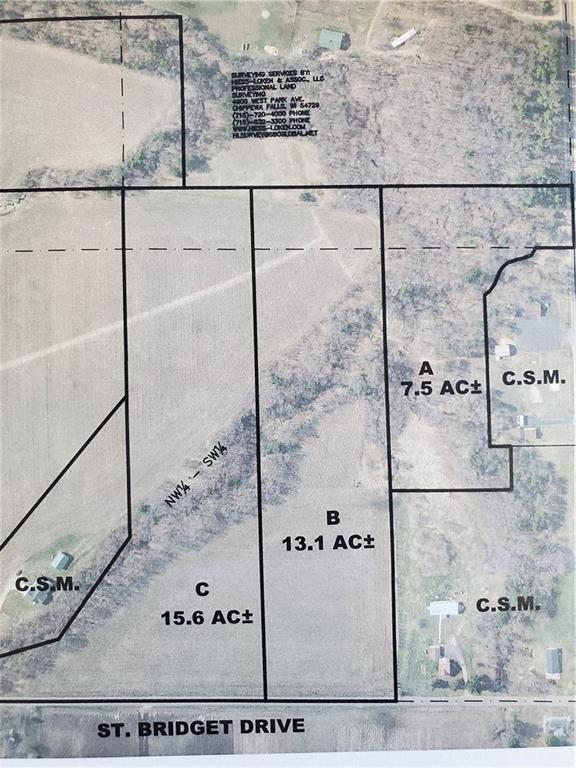 St Bridget Dr LOTS A,  B,  & C, Chippewa Falls, WI